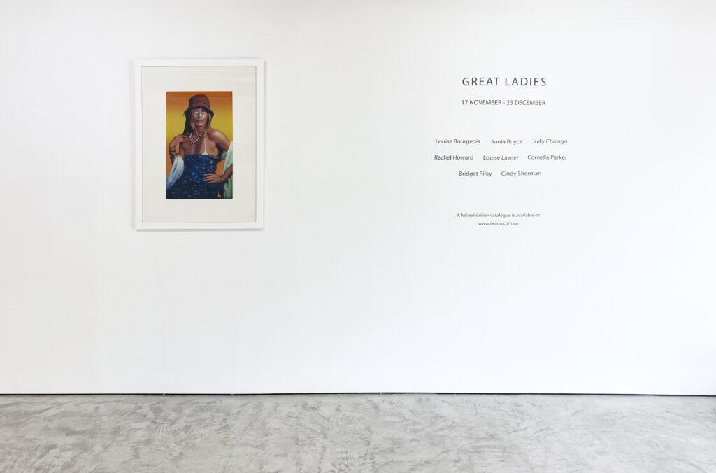 Great Ladies Exhibition at ILEANA Contemporary Art, Brisbane