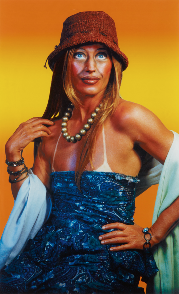 Cindy Sherman - Untitled (Self Portrait with Sun Tan) (2003)