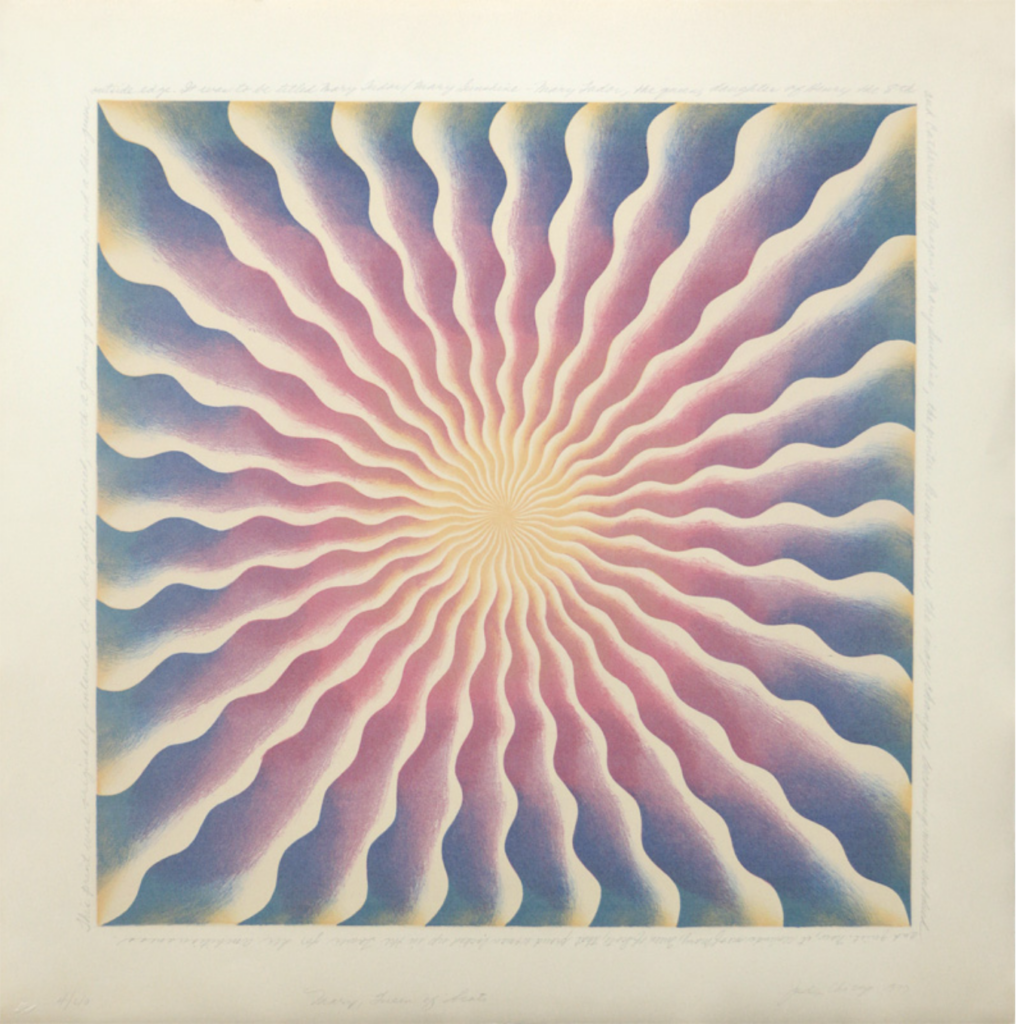 Judy Chicago - Mary Queen of Scots, 1973