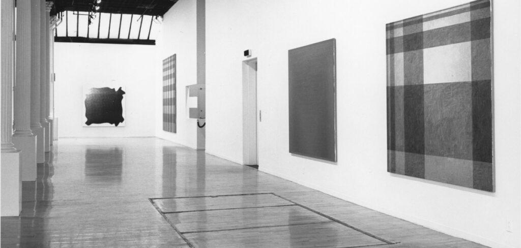Peter Schuyff at Leo Castelli New York at ILEANA Contemporary Art Gallery in Brisbane, Australia