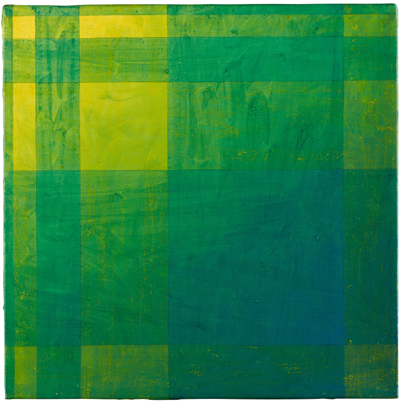 Peter Schuyff - Untitled (1987) painting from Pat Hearn at ILEANA Contemporary Art Gallery in Brisbane, Australia