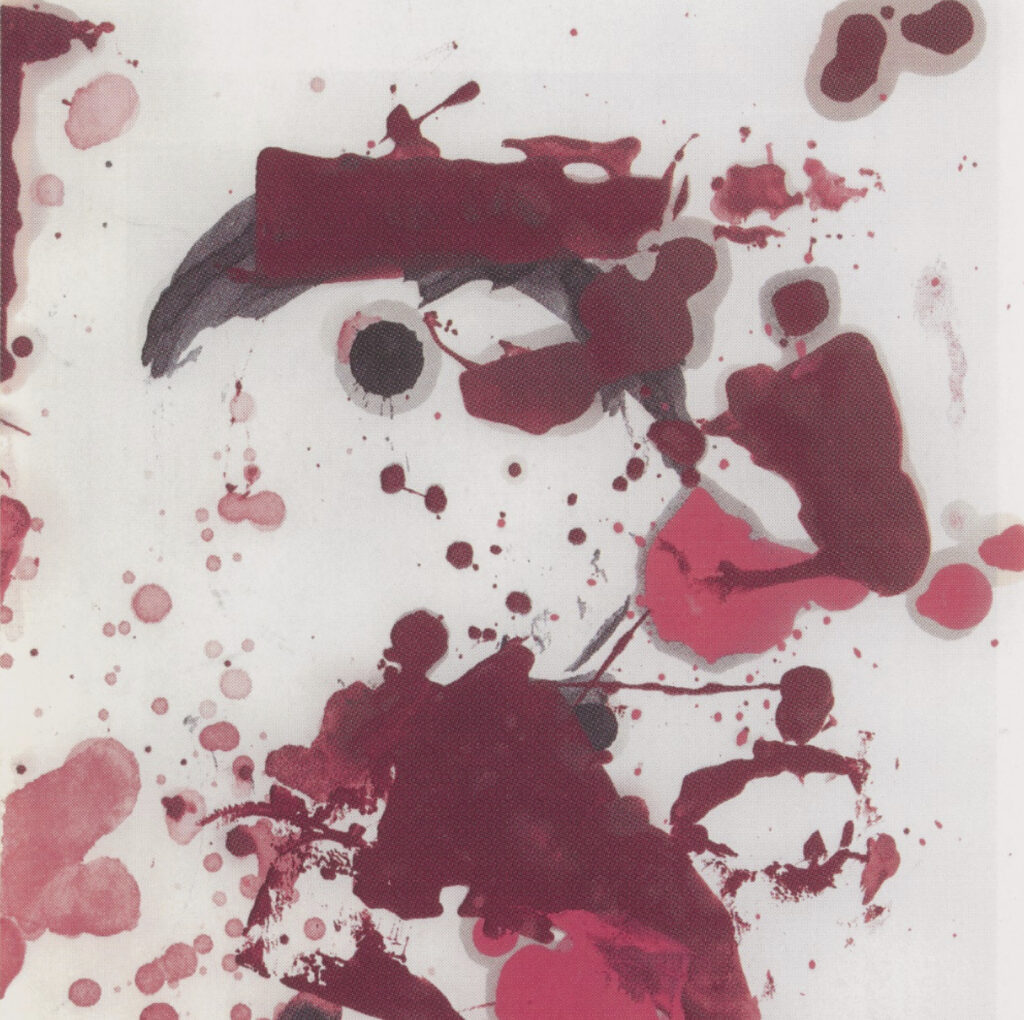 Christopher Wool, Untitled, 2006-07 silkscreen at ILEANA Contemporary Art in Brisbane, Australia