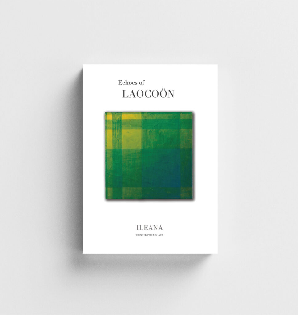 Echoes of Laocoon exhibition catalogue at ILEANA Contemporary Art Gallery in Brisbane, Australia