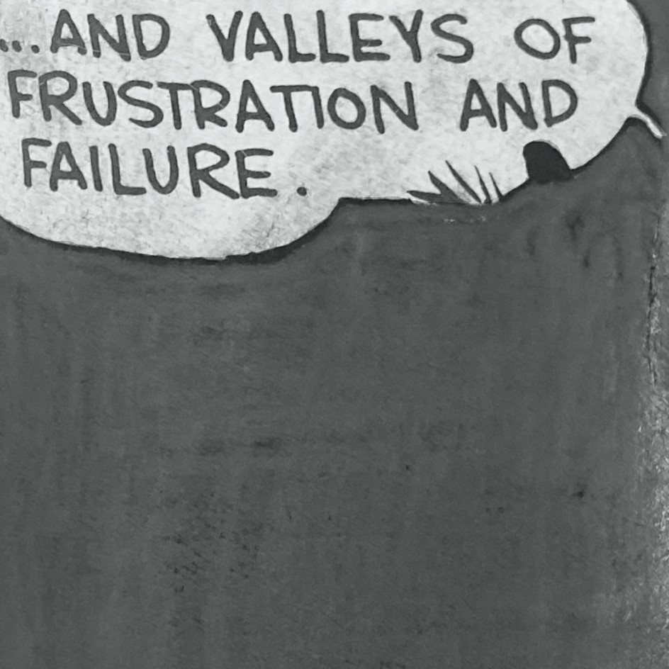 Tony Lewis, Valleys of Frustration and Failure, 2014, graphite, Chicago, at ILEANA Contemporary Art in Brisbane, Australia