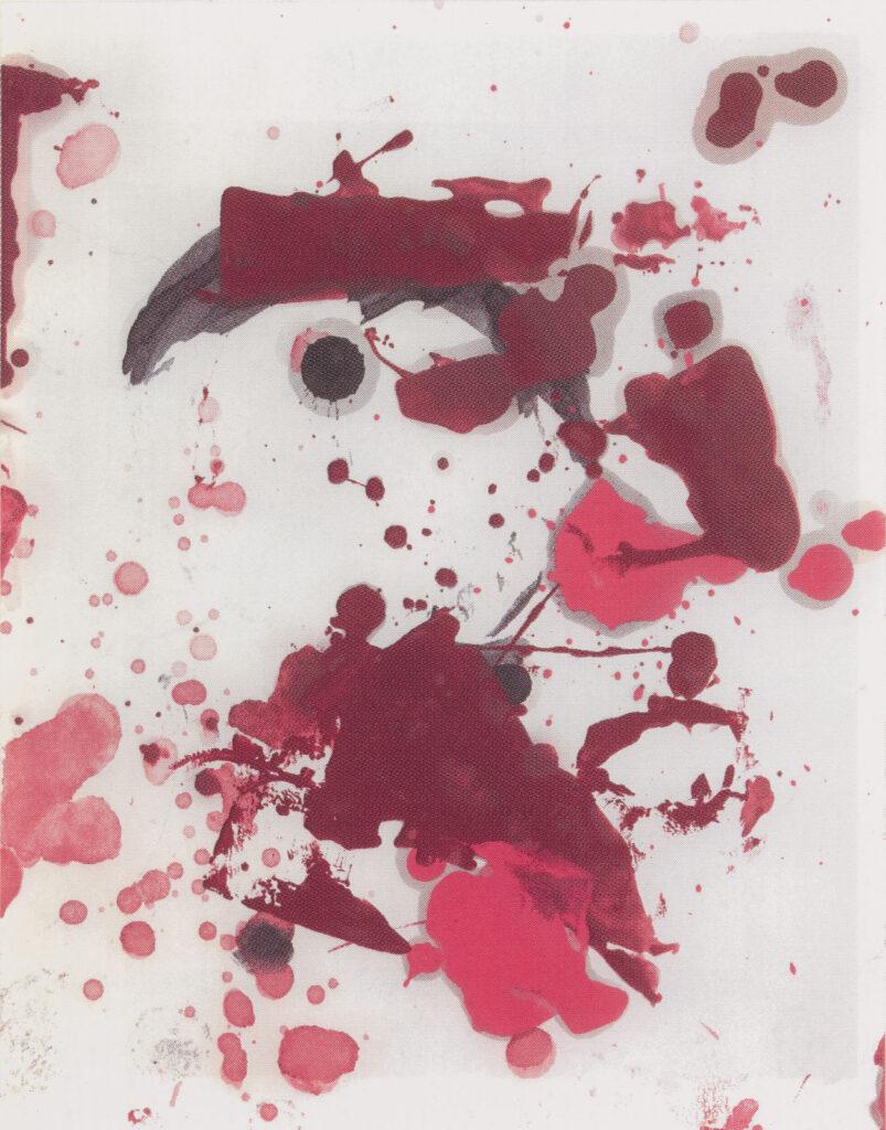 Christopher Wool, Untitled, 2006-07, silkscreen at ILEANA Contemporary Art Gallery in Brisbane, Australia