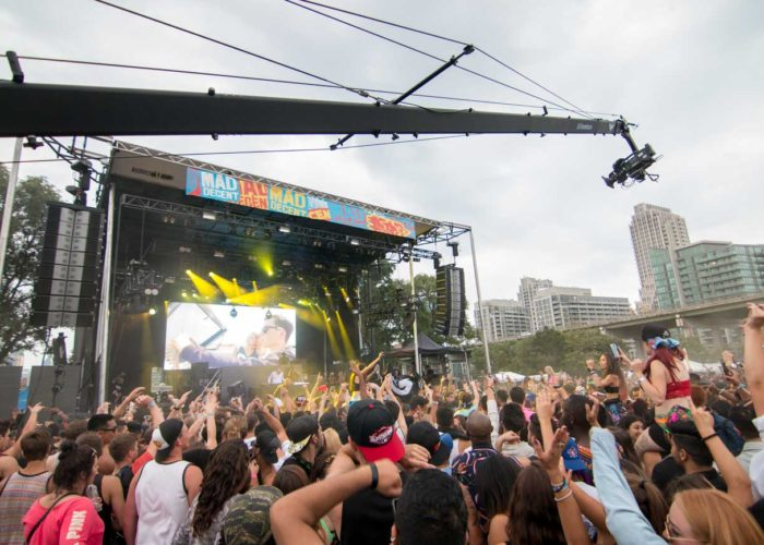 Jib Operator for Mad Decent Block Party in Toronto