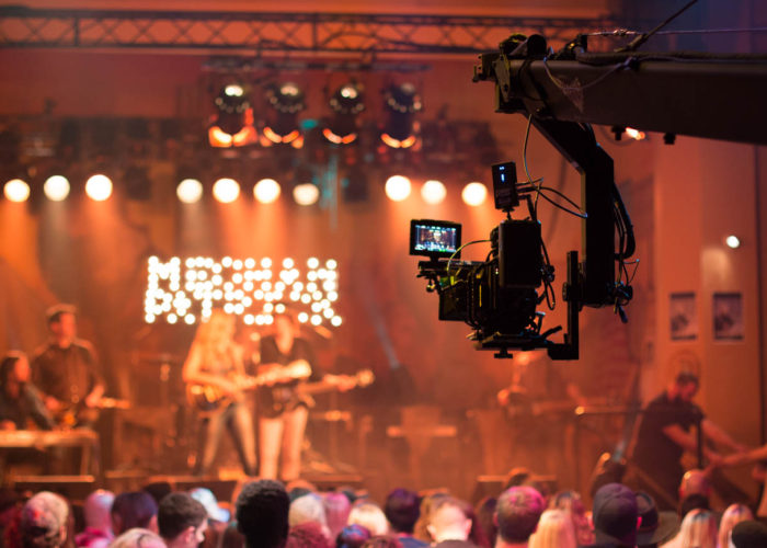 Crane Operator for Meghan Patrick Bow Chicka Wow Wow Music Video in Toronto