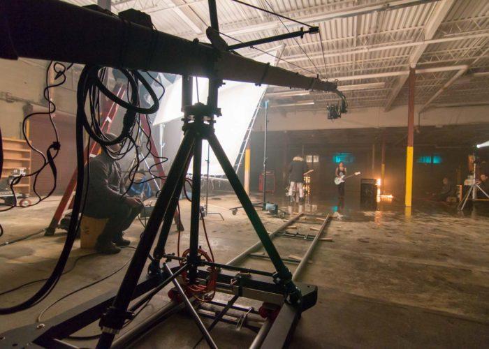 Toronto Crane Operator on Music Video