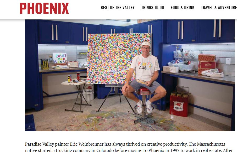 Read more about the article Studio Session with Paradise Valley Painter Eric Weinbrenner