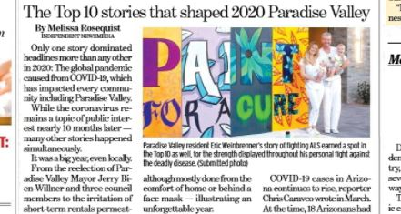 Read more about the article 2020: The Top 10 stories that shaped Paradise Valley