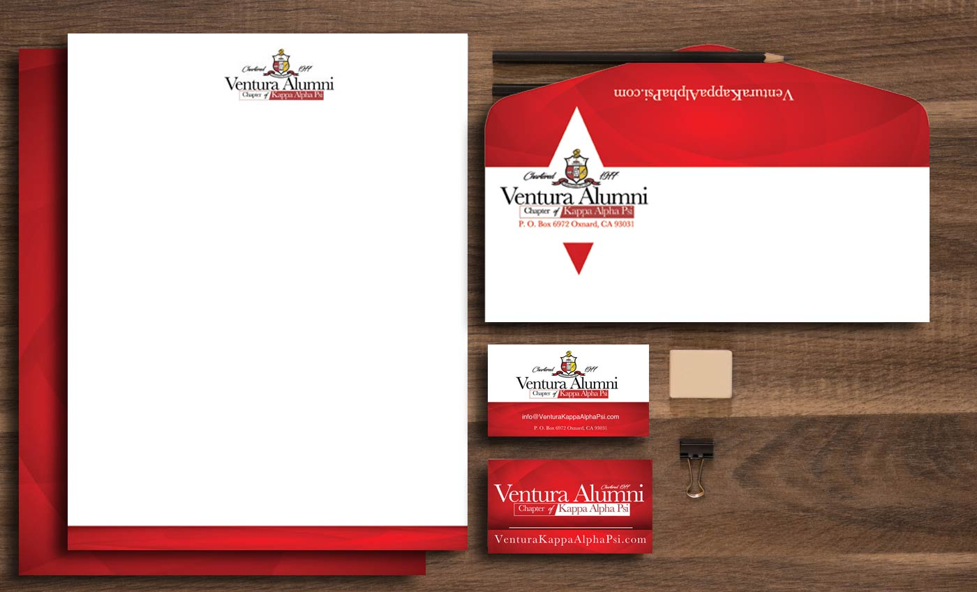 ventura alumni chapter of kappa alpha psi stationary