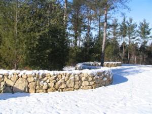 Stone fence 3