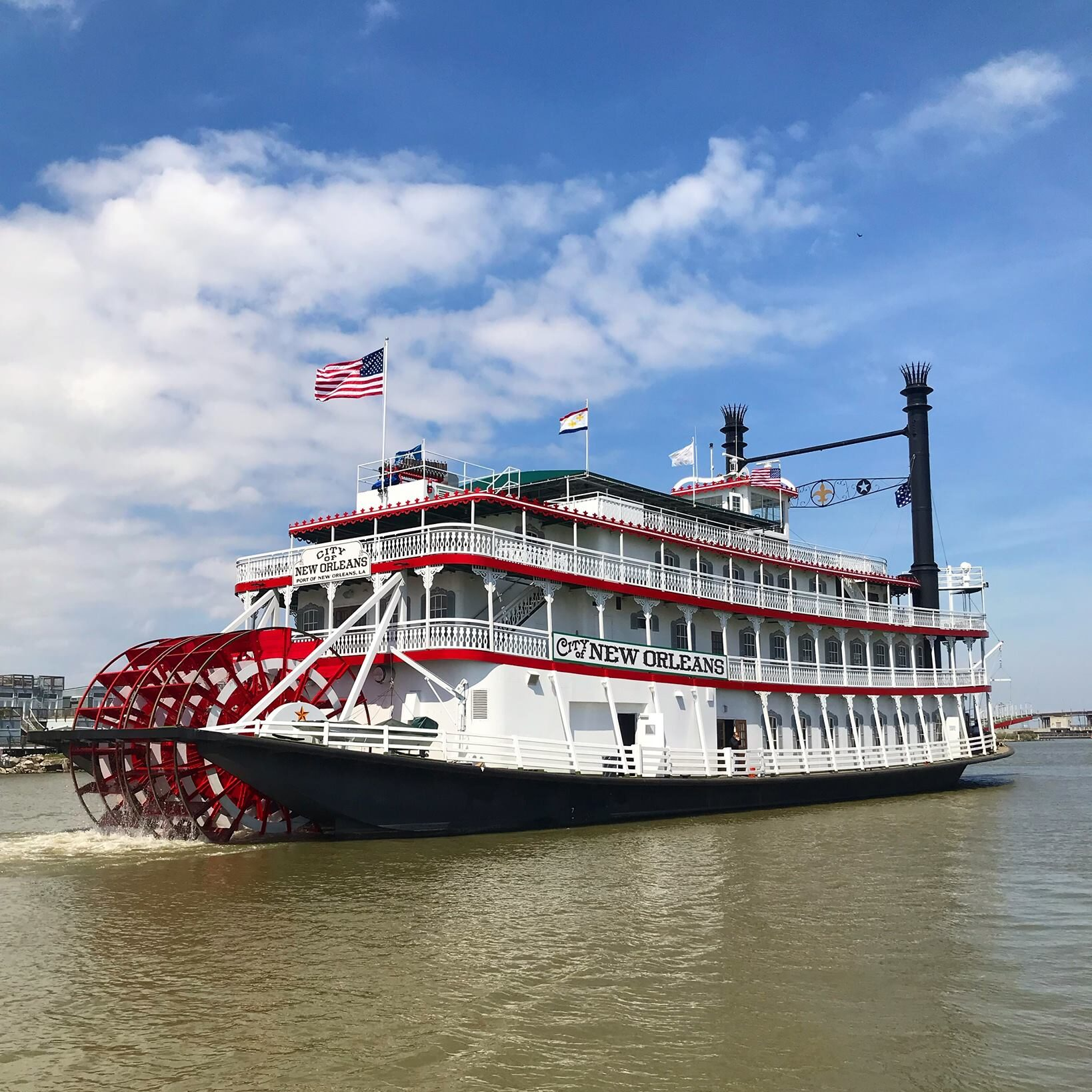 Riverboat City of New Orleans (New Orleans, LA)