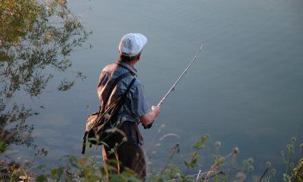 Out Fishing in Trempealeau County, WI