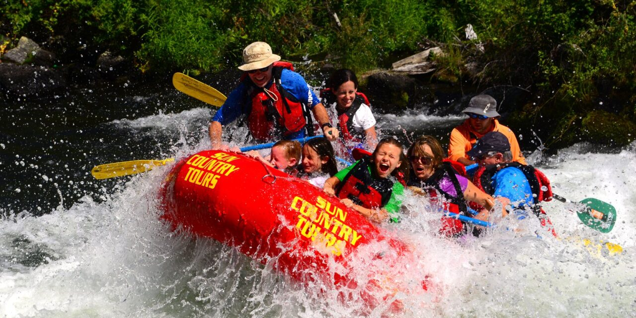 The Best Whitewater Rafting On The Deschutes River