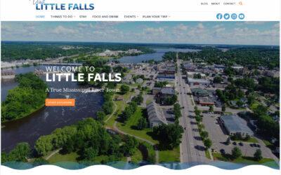 Little Falls Convention & Visitors Bureau Revealing New Website & Branding