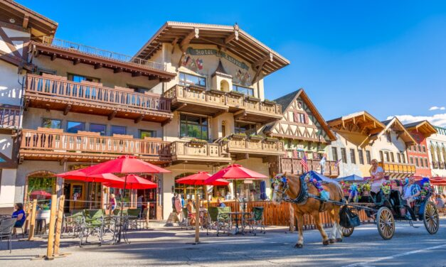 Best Bavarian Style German Towns Along National Rivers
