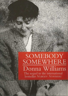 Book Cover of Somebody, Somewhere by Donna Williams