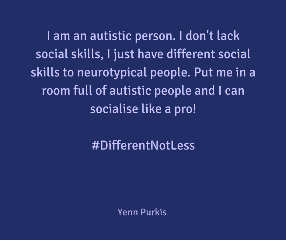 A short graphic about autism and employment by Yenn Purkis