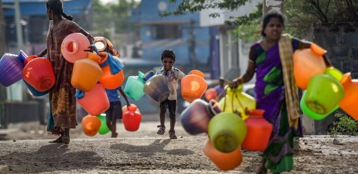 Chennai Water Drought