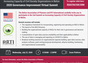 The Belize Association of Planners Invites you to Participate in 2nd Summit