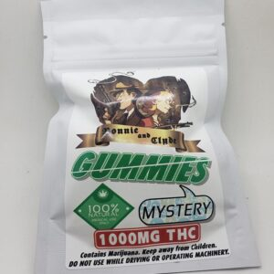 1000mg Bonnie and Clyde Gummies Edibles - Best Free Weed Delivery Service Hamilton Ontario