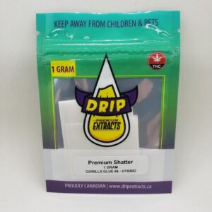 Drip Shatter Concentrate - Gorilla Glue #4 - Dispensary Near Me Open Hamilton Ontario