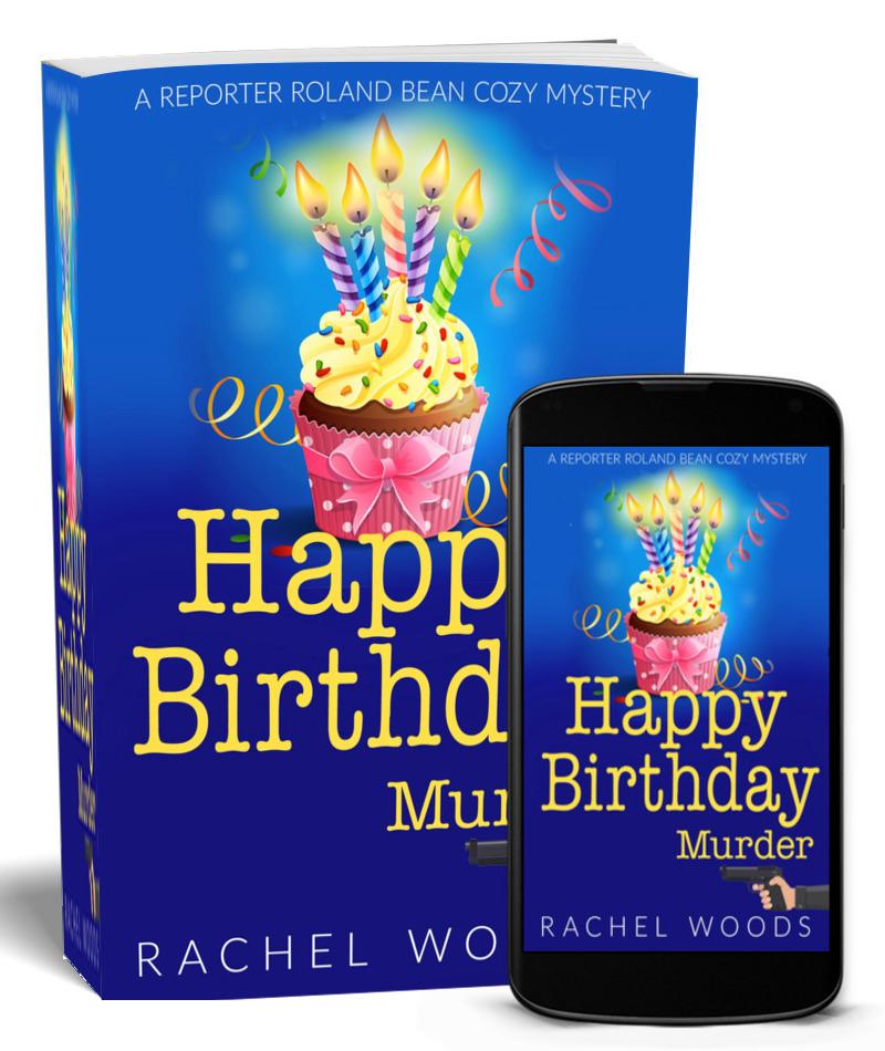 Happy Birthday Murder - Print IPhone Mockup