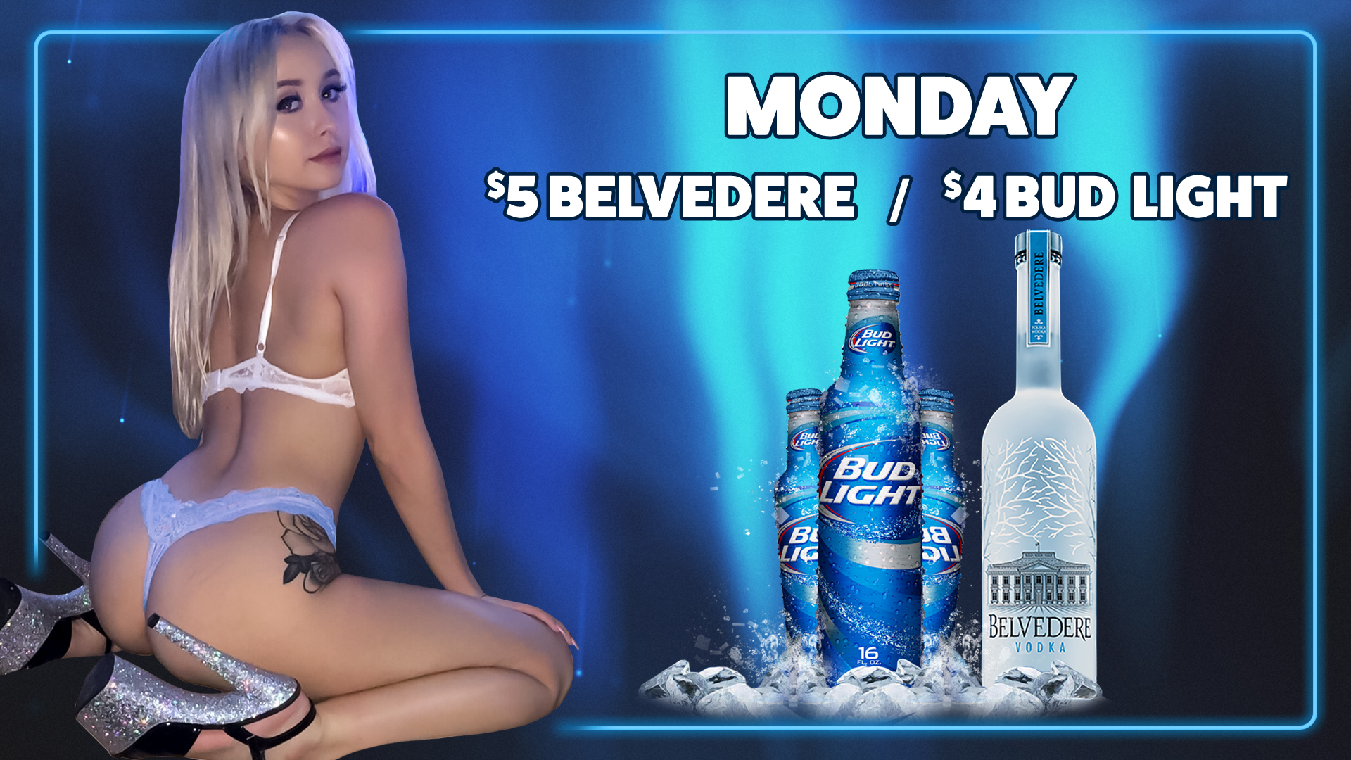 1-Drink Special - Monday 2020