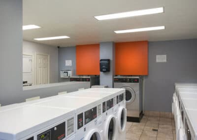 Laundry Rooms with Laundry machines