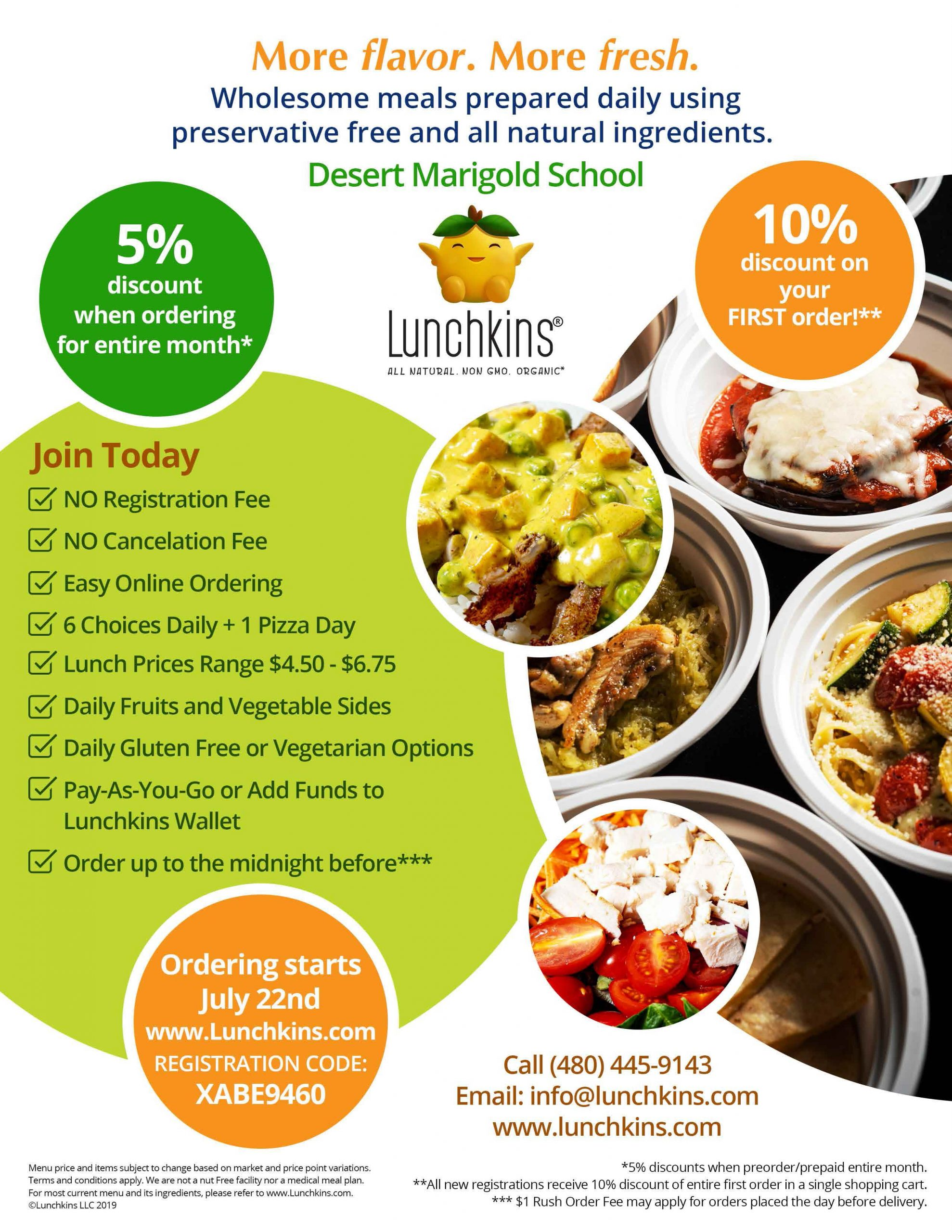 Lunchkins flyer