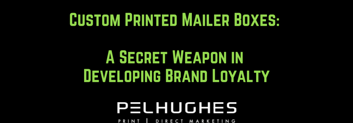 Custom Printed Mailer Boxes - pel hughes print marketing new orleans la