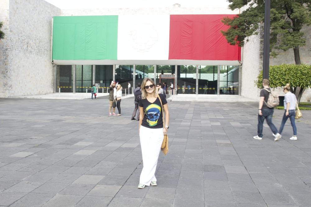 Camila Masullo em sua viagem ao México