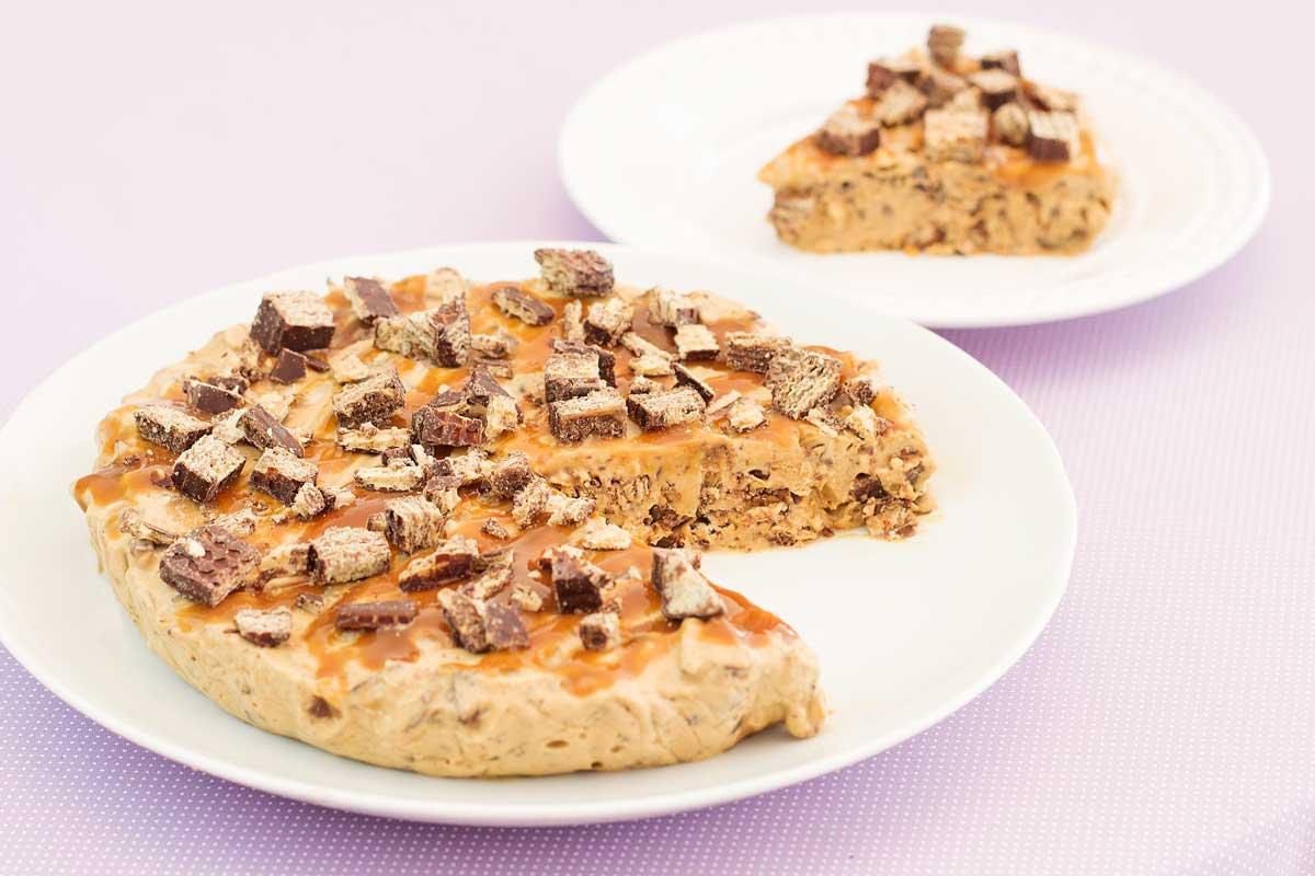 torta sorvete Bis (3 ingredientes)