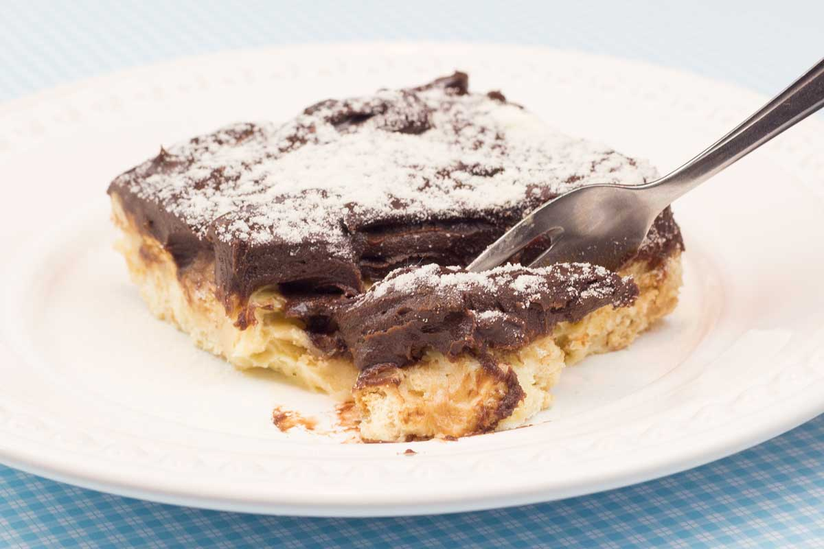 Palha Italiana de Leite Ninho com Chocolate Cremoso