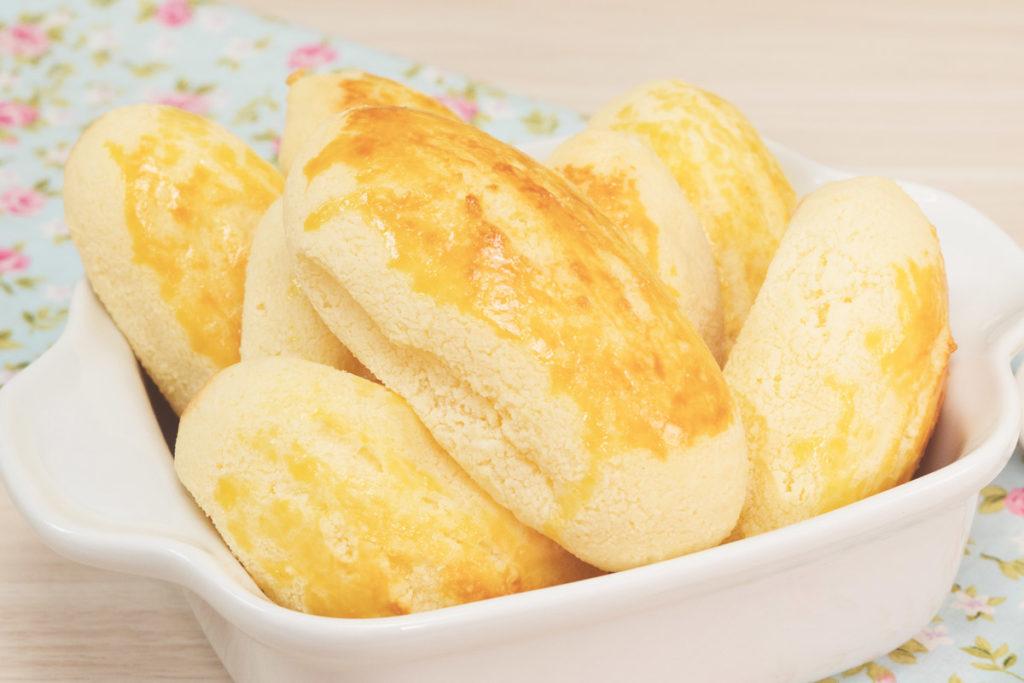 Pão sem glúten, low carb