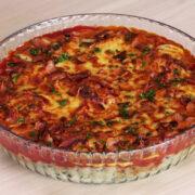 Frango Suculento, Bacon, Queijo e Purê