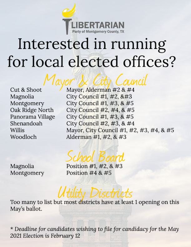 May 2021 Election List