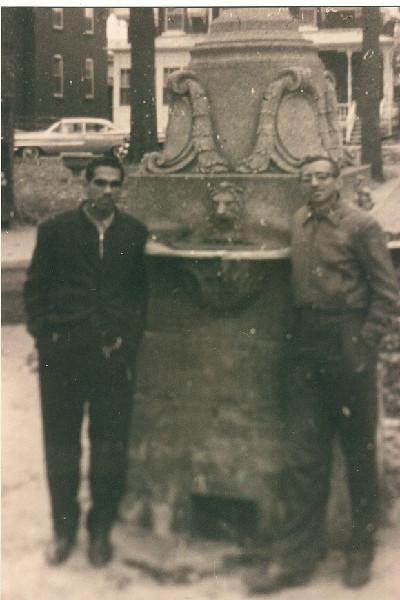 Photo of Rudy Mendez and Nat Cirulnick
