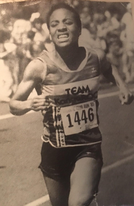 Picture of Michele Cuke in a Race