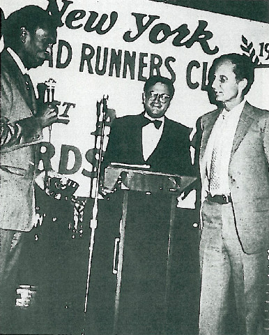 Photo of Ted Corbitt and Browning Ross