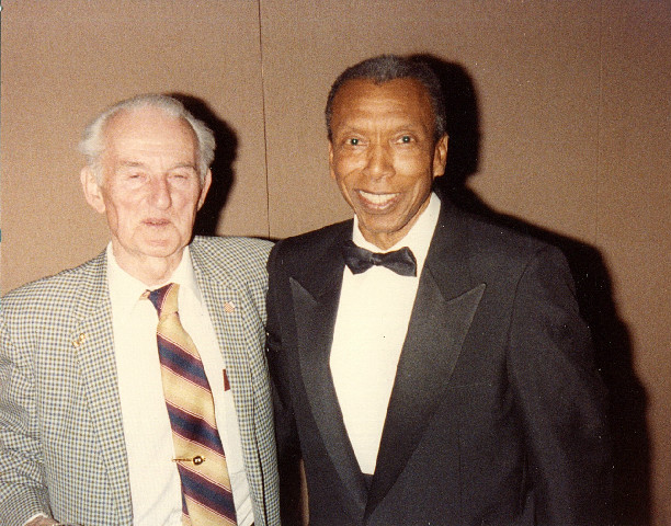 Ted Corbitt and John A. Kelley in Suits