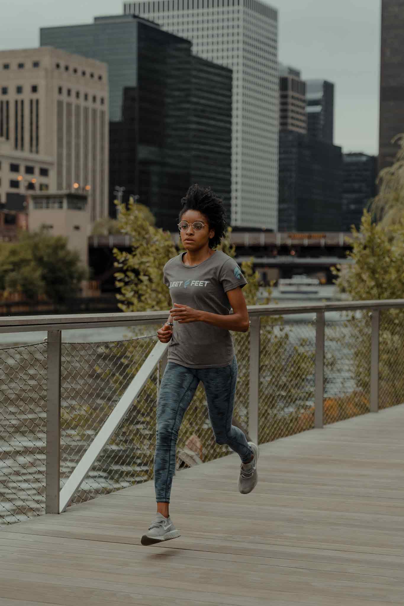 Angela Swain Running