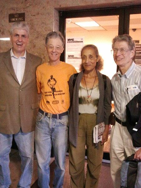 Rich Innamorato, Grant McKeown, Admas Belilgne, and Dave Obelkevich