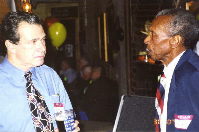 Ted Corbitt and John Chodes Talking
