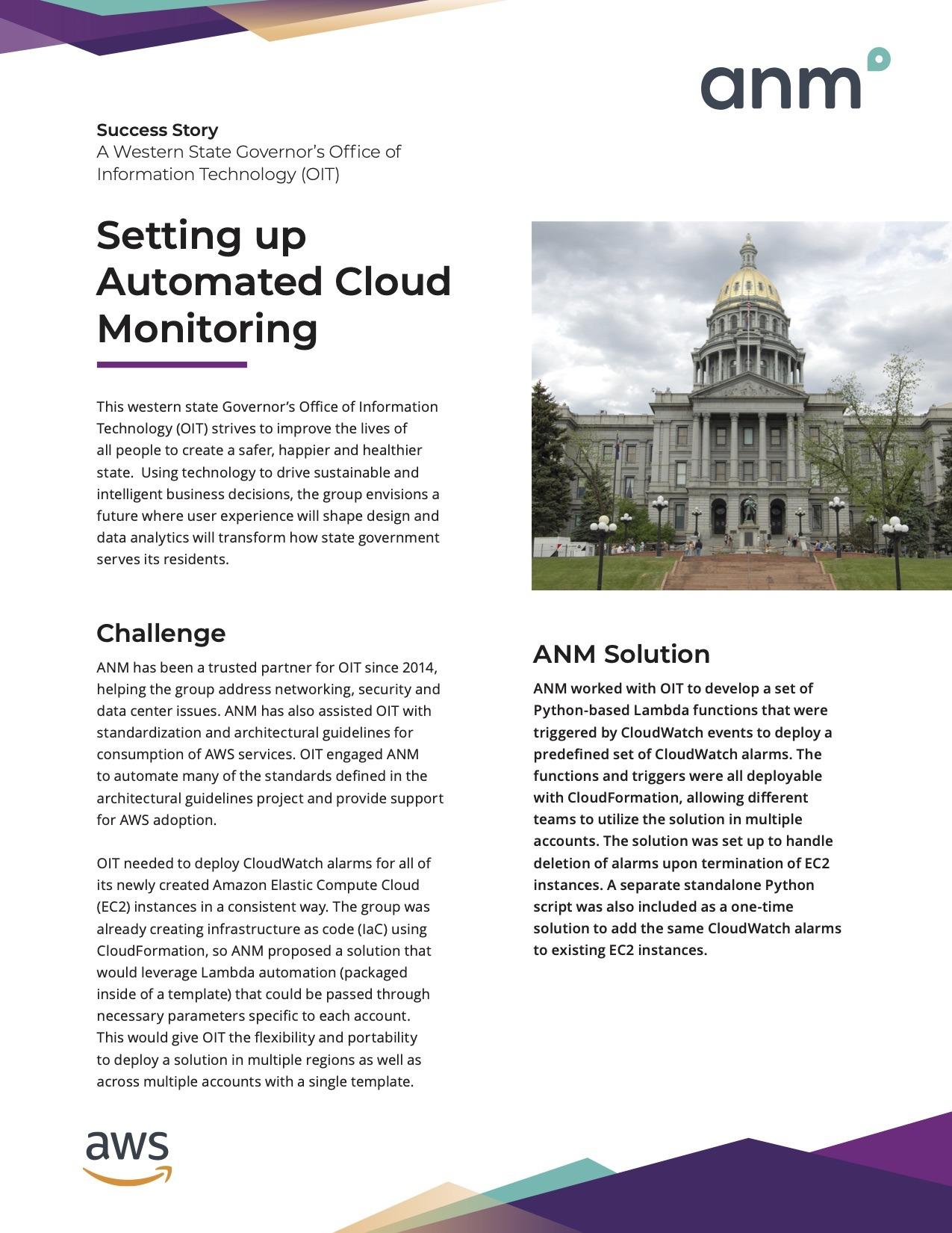 ANM Data Center & Cloud case study