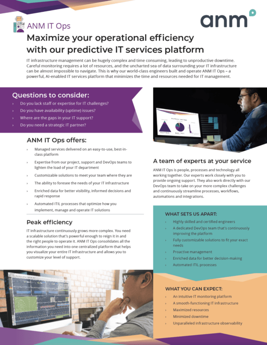 ANM Managed Services datasheet