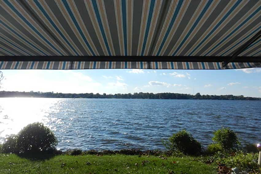 lake home awning