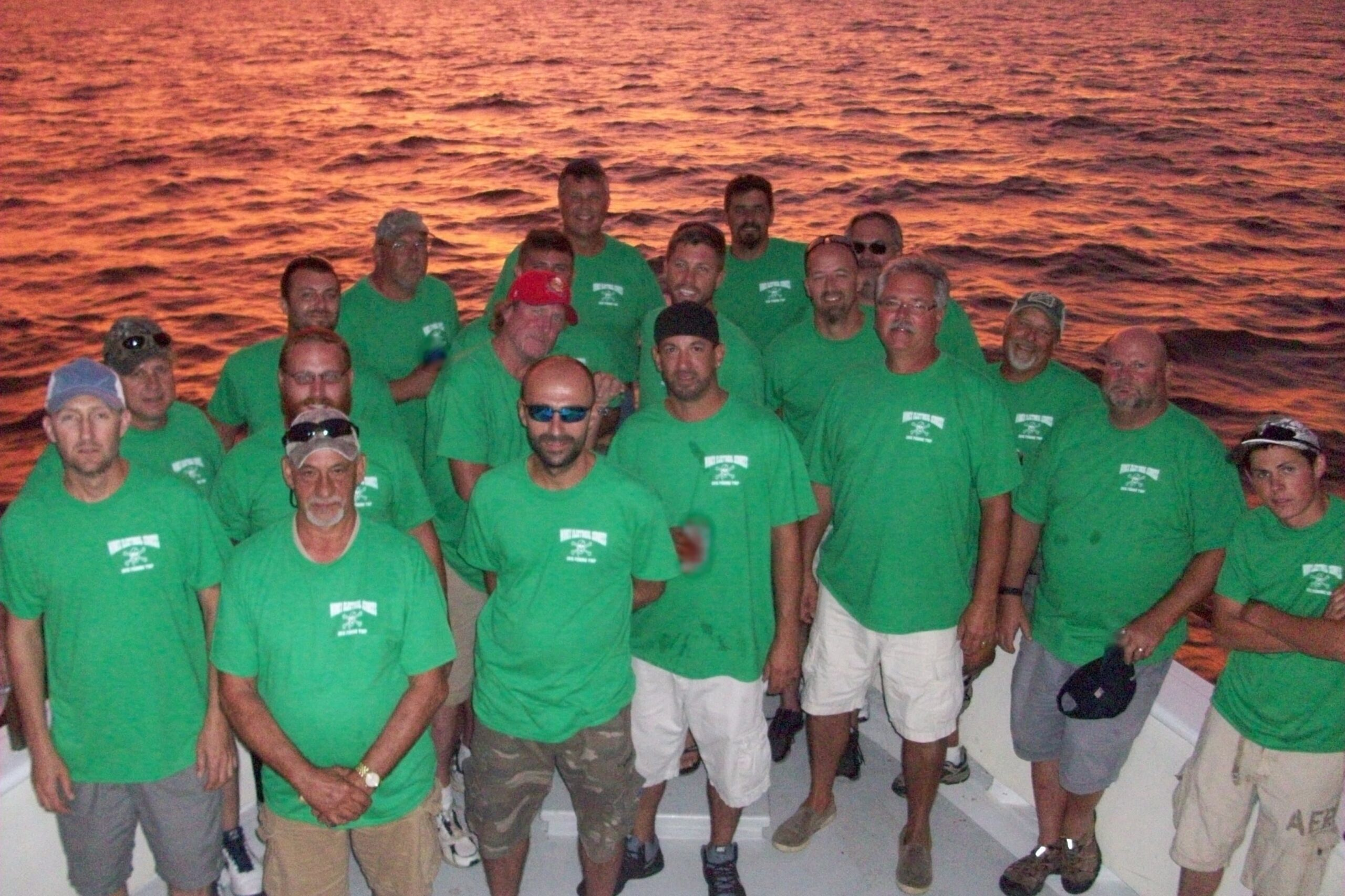 Fishing trip group picture