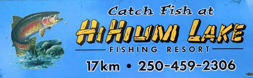 HiHium Lake Fishing Resort